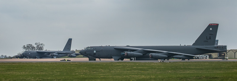 Boeing B-52H Stratofortress - USAF - 2BW - RAF Fairford (March 2019)