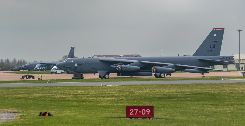 Boeing B-52H Stratofortress - USAF - 2BW - 96th BS - LA AF 60-0032 - RAF Fairford (March 2019)