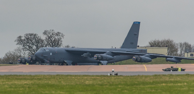 Boeing B-52H Stratofortress - USAF - 2BW - 20th BS - AF 60-0024 - RAF Fairford (March 2019)