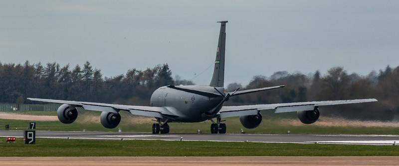 Boeing KC-135 Stratotanker - USAF - 916th ARM - 63-8014 - RAF Fairford (March 2019)