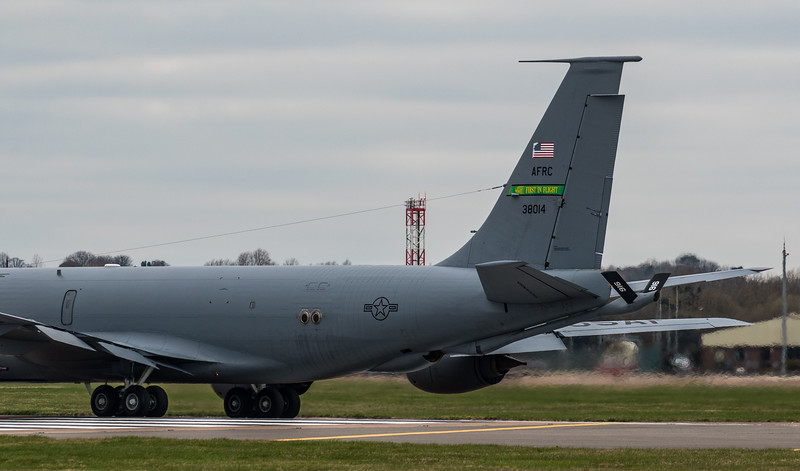 Boeing KC-135 Stratotanker - USAF - 916th ARM - 63-8014 - RAF Fairford (March 2019)