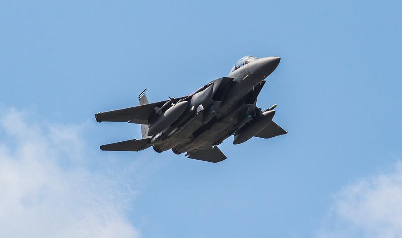 F15-E Strike Eagle - 48FW - 492FS - LN AF 91-0316 - RAF Lakenheath (March 2019)
