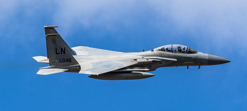 F15-D Eagle - 48FW - 493FS - LN AF 84-0046 - RAF Lakenheath (March 2019)