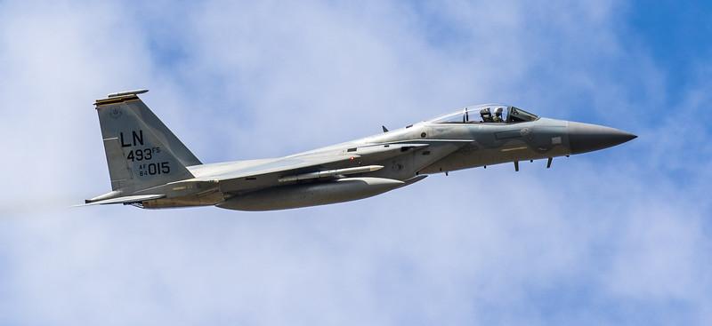 F15-C Eagle - 48FW - 493FS - LN 493FS AF 84-0015 - RAF Lakenheath (March 2019)