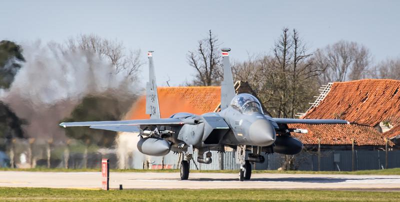 F15-E Strike Eagle - 48FW - 494FS - LN 494FS AF 91-0314 - RAF Lakenheath (March 2019)