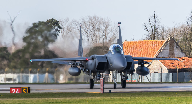 F15-E Strike Eagle - 48FW - 494FS - LN AF 91-0309 - RAF Lakenheath (March 2019)