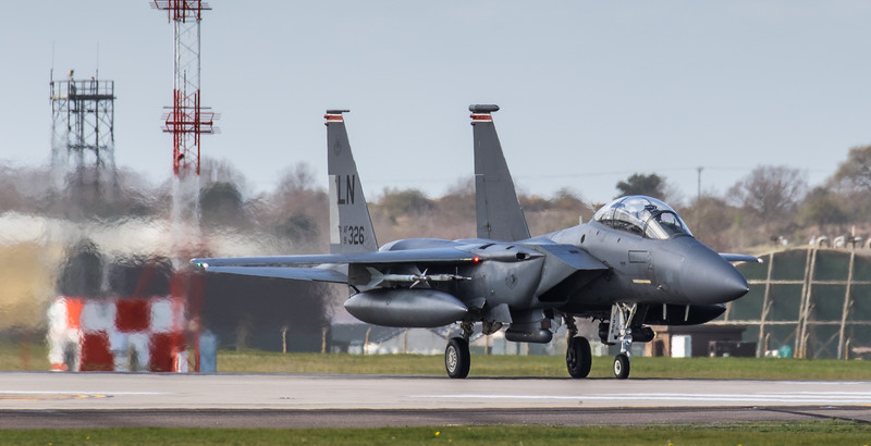F15-E Strike Eagle - 48FW - 494FS - LN AF 91-0326 - RAF Lakenheath (March 2019)