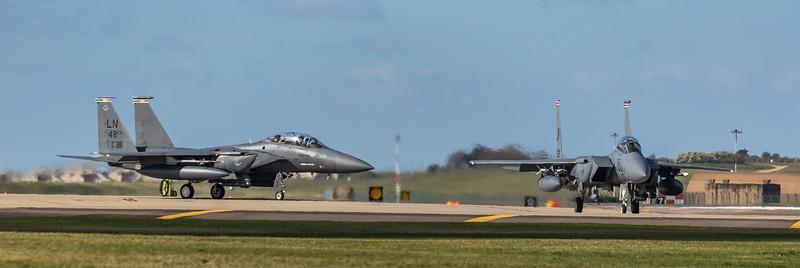 F15-E Strike Eagle - 48FW - 494FS - RAF Lakenheath (March 2019)