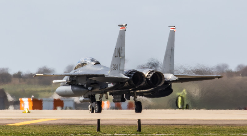 F15-E Strike Eagle - 48FW - 494FS - LN AF 92-0364 - RAF Lakenheath (March 2019)