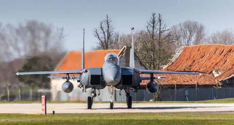 F15-E Strike Eagle - 48FW - 494FS - LN AF 00-3003 - RAF Lakenheath (March 2019)