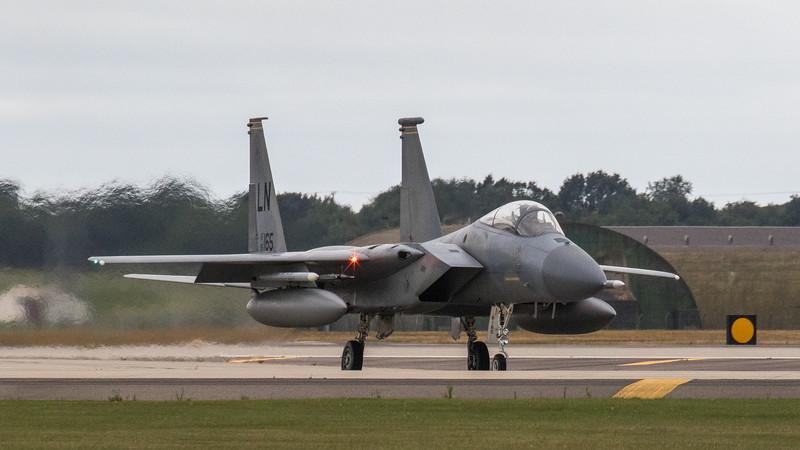F15-C Eagle - 48FW - 493FS - LN AF 86-0165 - RAF Lakenheath (August 2020)