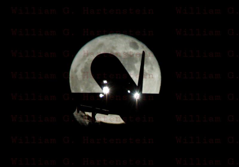 Super Moon LAX 11-14-2016