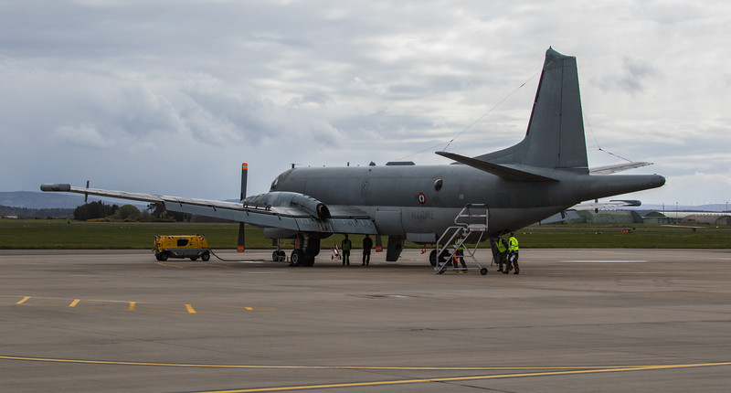 Breguet Atlantic - French Navy - RAF Lossiemouth (May 2018)