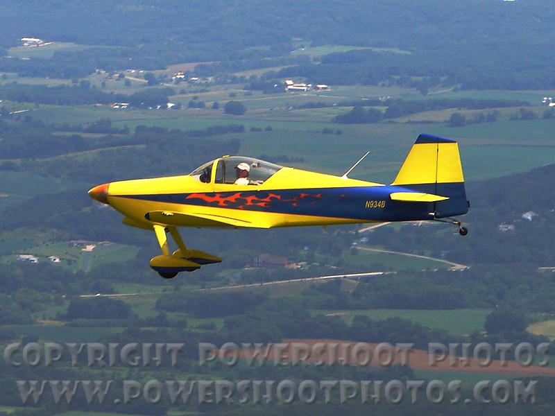 RANS RV6 in air A