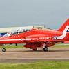 BAE Hawk T1 - Red Arrows - RAF Fairford (July 2016)