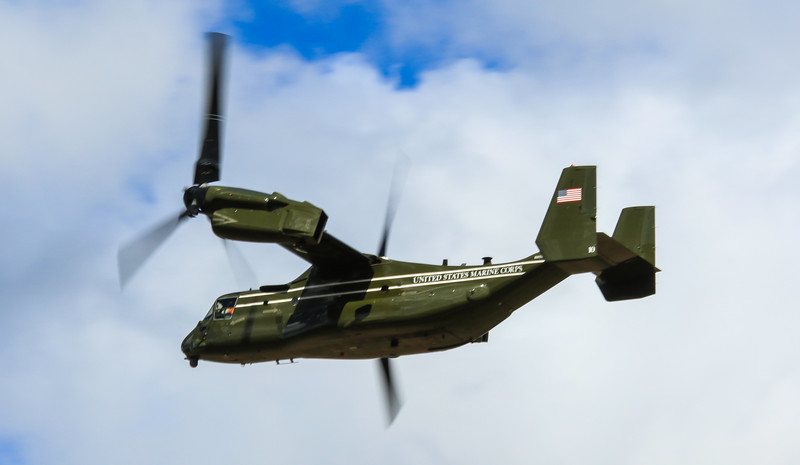 CV22 Osprey - US Marine - RAF Mildenhall (April 2016)