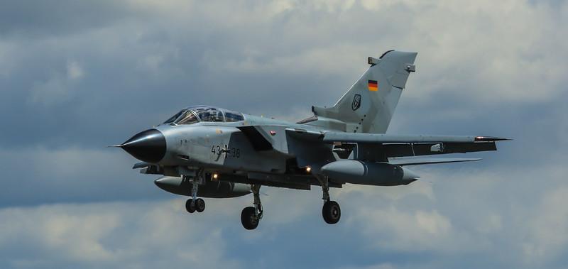 Tornado IDS - GAF TLG-33 - RAF Fairford - RIAT Arrivals (July 2016)