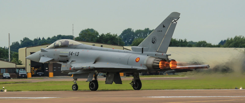 Eurofighter Typhoon - Spanish - Ala 14 (July 2016)