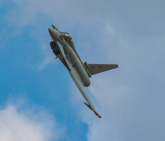 Eurofighter Typhoon - Italian Display - RIAT - RAF Fairford (July 2018)
