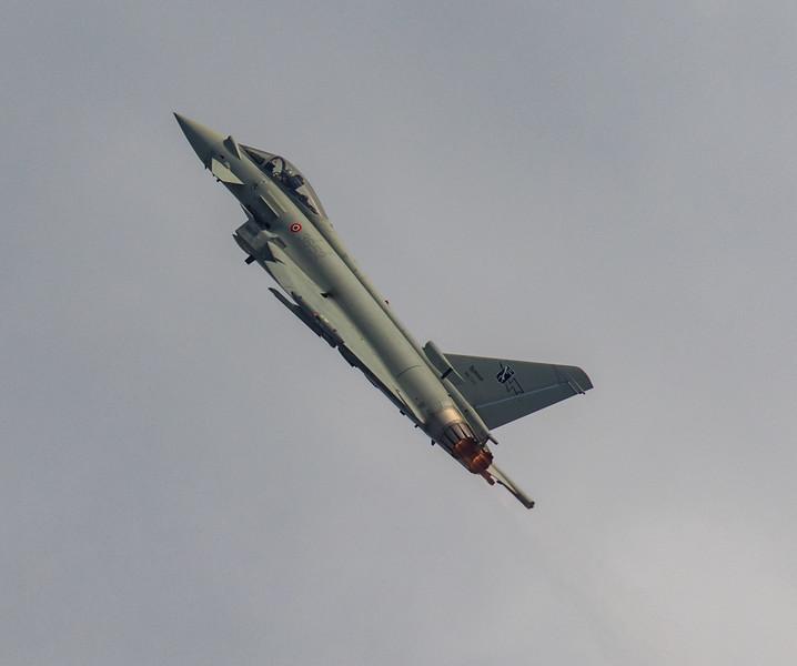 Eurofighter Typhoon - Italian Display - RIAT - RAF Fairford (July 2018)