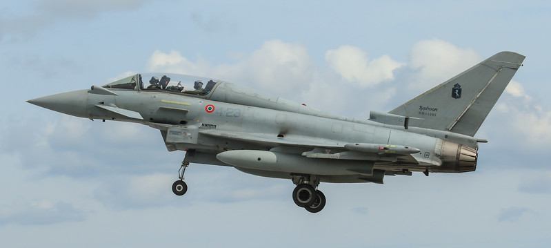 Eurofighter Typhoon - Italian - 4º Stormo (July 2016)