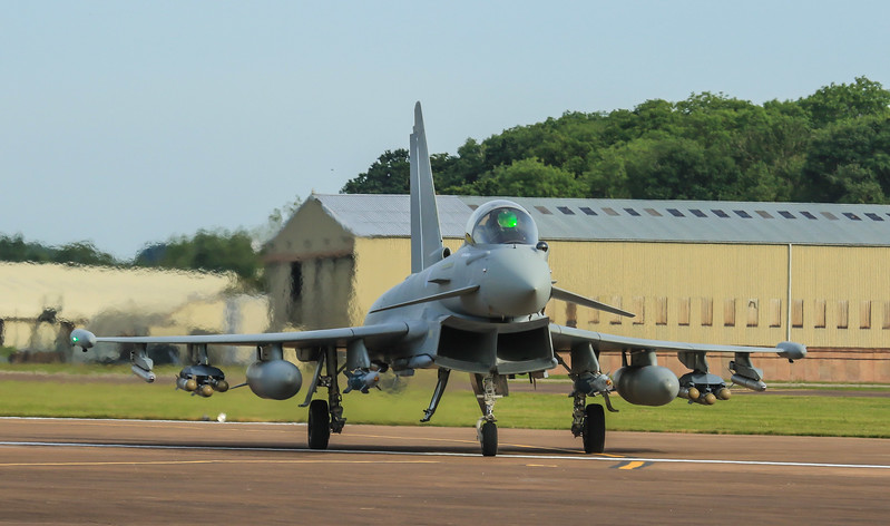 Typhoon - UK - BAE Systems - FGR4 - ZK356 (July 2016)