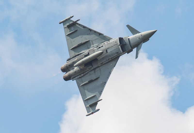 Eurofighter Typhoon - ZK318 - RAF100 - RAF Display - RIAT - RAF Fairford (July 2018)