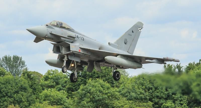 Eurofighter Typhoon - Spanish - Ala 14 (July 2016)