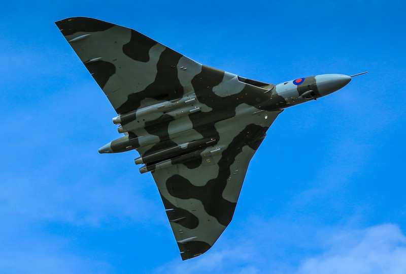 Avro Vulcan - RAF Fairford RIAT (July 2015)