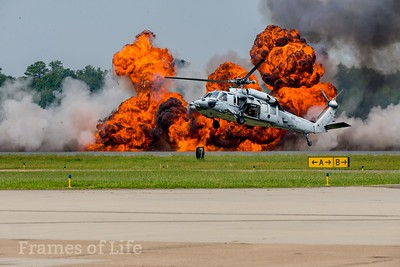 MH-605 Sea Hawk Helicopter at Oceana Naval Base Air Show