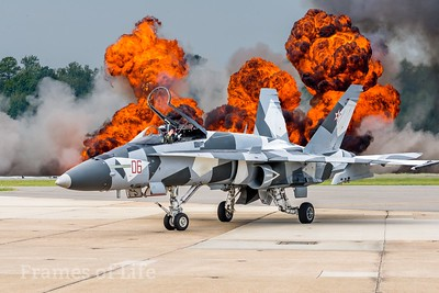 F/A 18 Hornet at Oceania Air Show