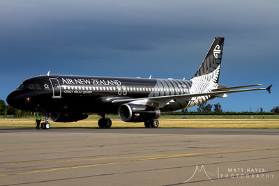 Air New Zealands second All Black A320