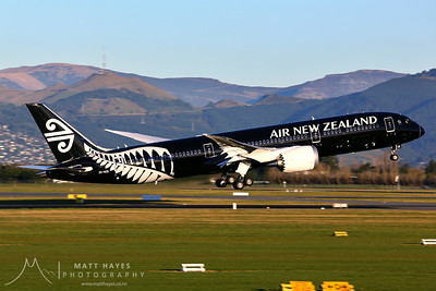 Air New Zealand Boeing 787 ZK-NZE