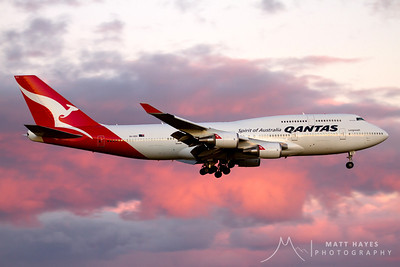 Qantas 27 on arrival at Christchurch following an inflight medical emergency enroute Sydney - Santiago