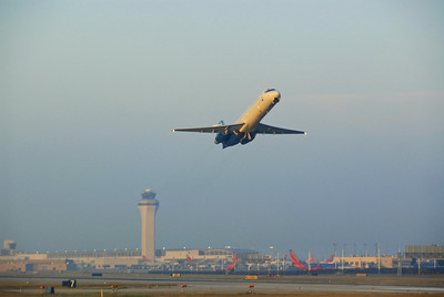 Boeing 717 Takeoff DTW