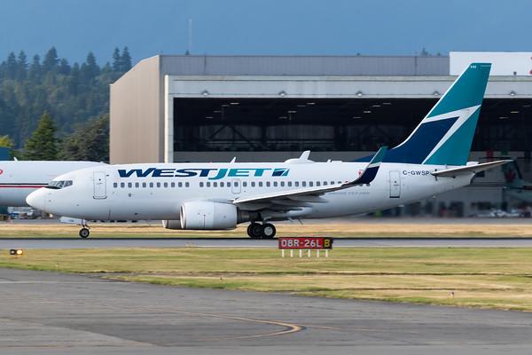 WestJet B737-700 (C-GWSP)