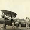 Plane on Dirt Air Strip (02231)