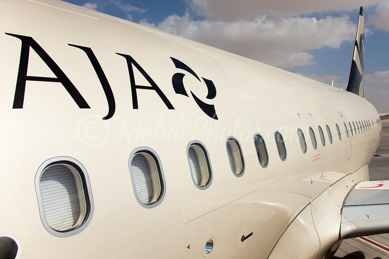 AJA - Al Jaber Aviation A6-AJC A318