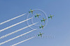 BAE Hawk trainers of the Saudi Air Force displaying at Al Ain Airshow, UAE