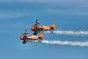 Breitling (AeroSuperBatics)<br /> Stearman PT-17 Kaydet wingwalkers at Sunderland Airshow