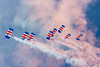 RAF Falcons display team at Sunderland Airshow