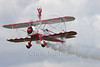 Boeing Stearman PT-17 Kaydet of the Team Guinot display team, at Sywell