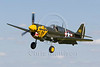 Curtiss P-40M Warhawk, reg G-KITT, at Little Gransden