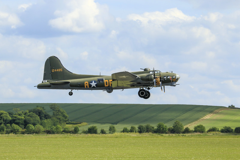 "B17 ""Sally B"" - IWM Duxford (May 2014)"