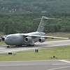 C-17 taxiing and departing