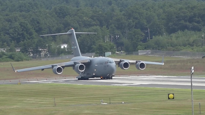 C-17 Globemaster (support aircraft for the USAF Thunderbirds)