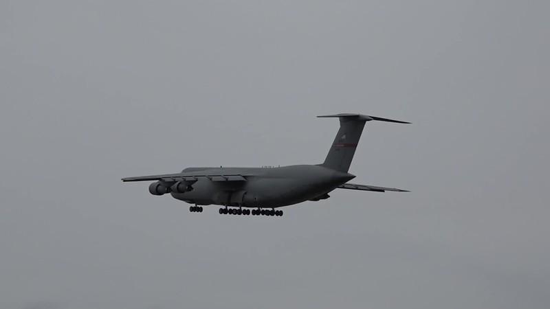 C-5 taking off