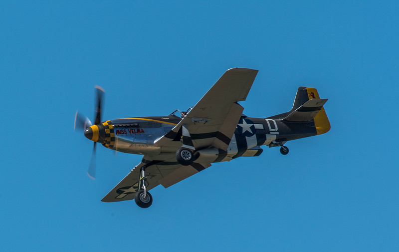 North American P-51 Mustang - Miss Velma (May 2017)