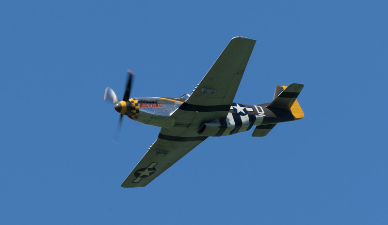 North American P-51 Mustang - Miss Velma (May 2017)