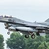 F16 Falcon - USAF - 52FW - 480FS - SP AF 91-412 - RIAT Arrivals - RAF Fairford (July 2017)